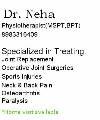 Dr.  Neha Gandhi